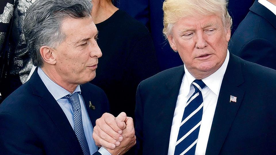 Macri le reiteró a Trump la invitación oficial para noviembre en el marco del G20.