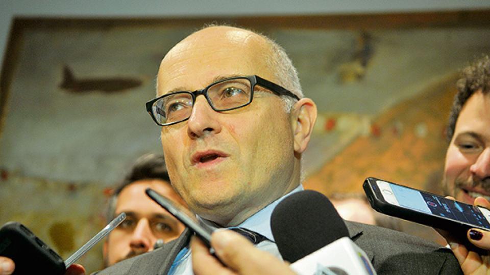 Roberto Cardarelli es el enviado por el Fondo Monetario para seguir con las negociaciones.
