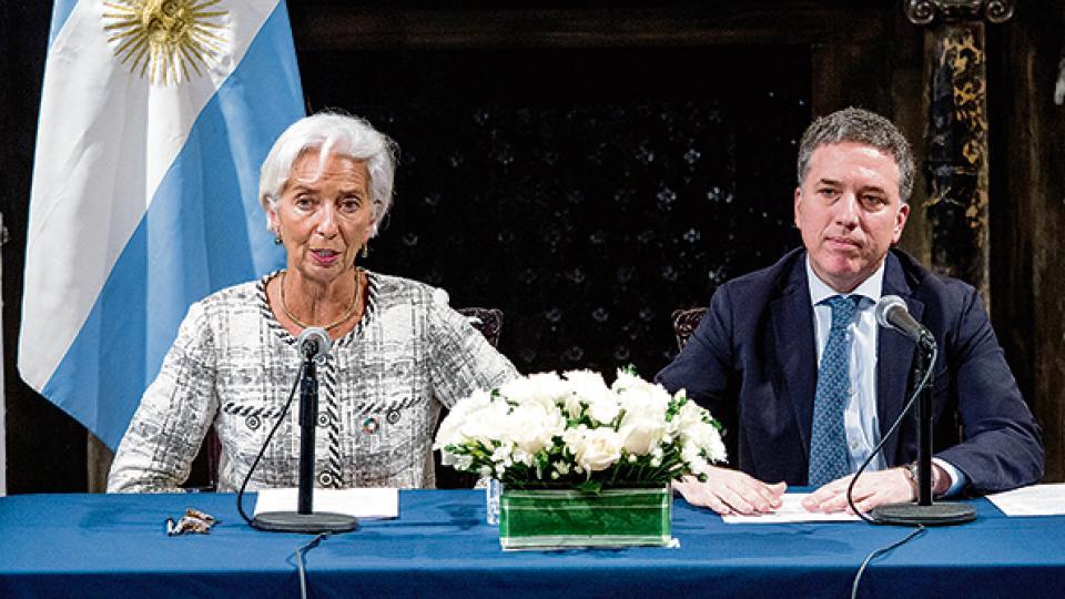 Christine Lagarde, titular el FMI, lo hará esperar a Nicolás Dujovne antes de mandar las divisas.