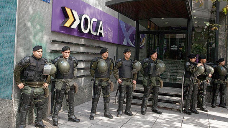 La AFIP denunció a la empresa OCA por una deuda superior a 5000 millones de pesos.