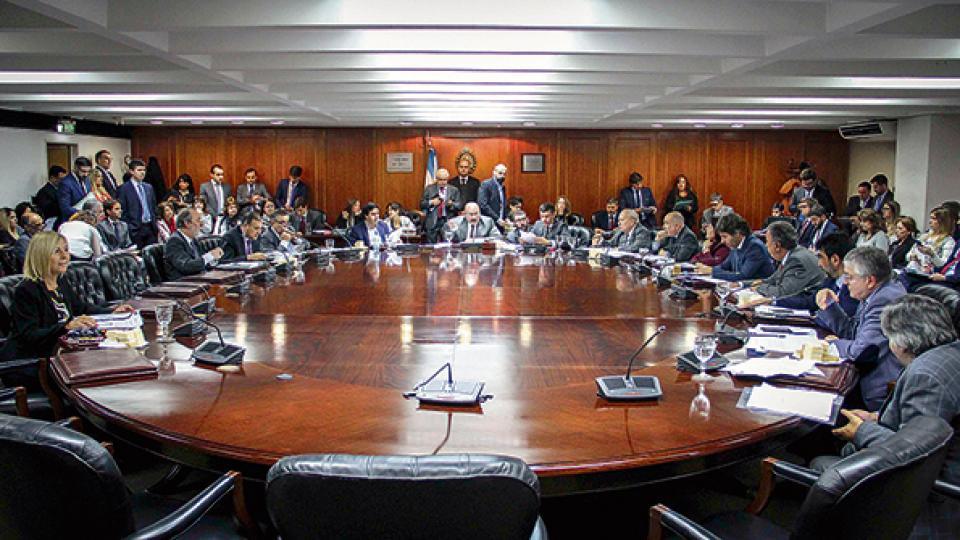 """""""Estamos haciendo una Justicia a la carta"""", se quejaron los diputados opositores en el Consejo de la Magistratura."""