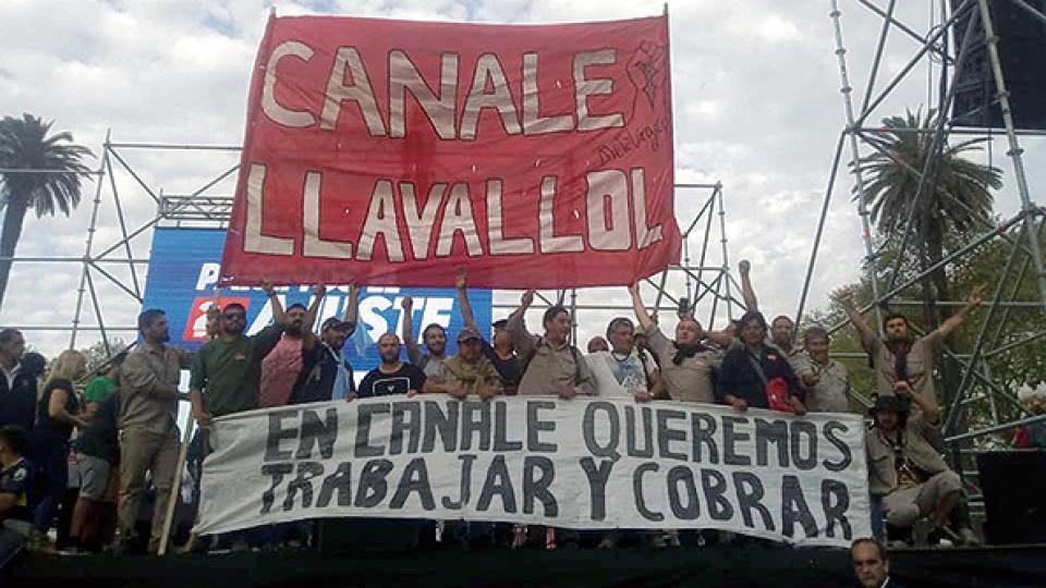 Los empleados de Canale no cobran el sueldo desde hace tres meses y la fábrica está inactiva.