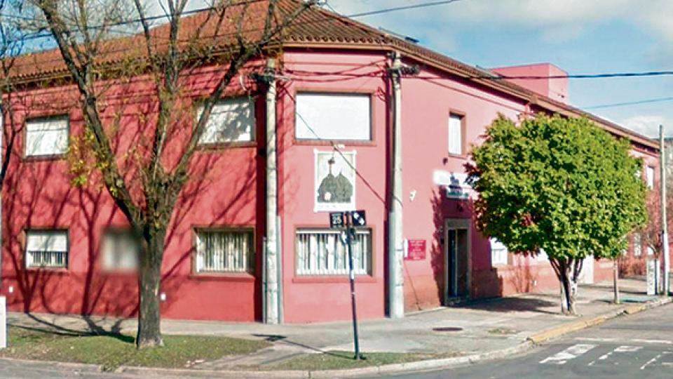 La sucursal de La Plata del Instituto Próvolo, con denuncias de abusos en todas sus sedes.
