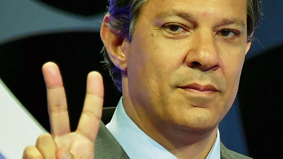 BRASIL Gana Haddad en segunda