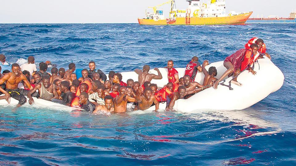 Acnur informó que este año murió en el mar uno de cada 18 de los migrantes que llegaron a Italia.