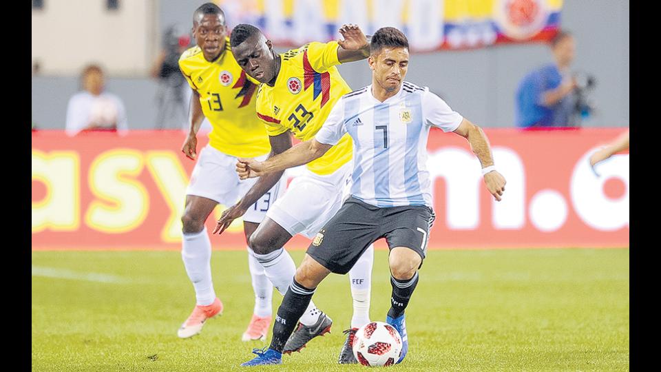 El equipo argentino se despidió de la gira con un empate ante Colombia.