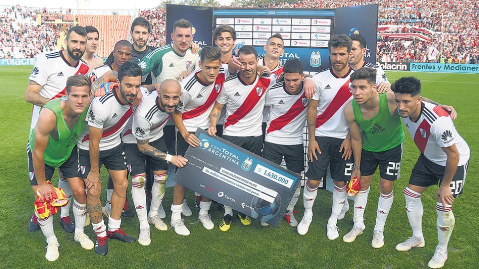 El equipo de Gallardo alcanzó así los 32 partidos sin perder.