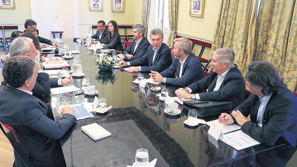 """Garavano participó ayer de la reunión de gabinete y, según sus voceros, estuvo """"tranquilo y trabajando""""."""