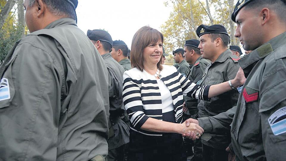 Patricia Bullrich, la ministra de Seguridad, beneficiada con el nuevo reparto de fondos.
