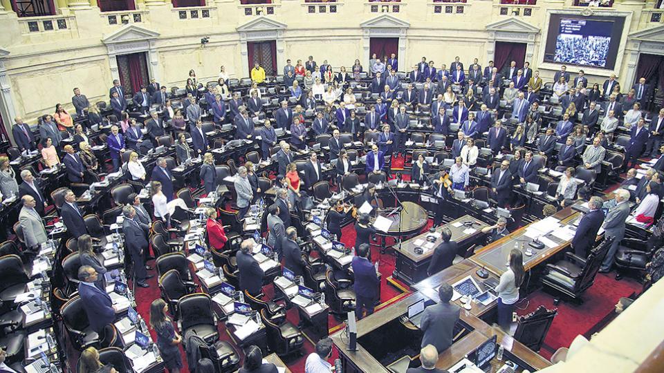El recinto de la Cámara de Diputados en donde se convocó a una sesión especial para derogar la medida.