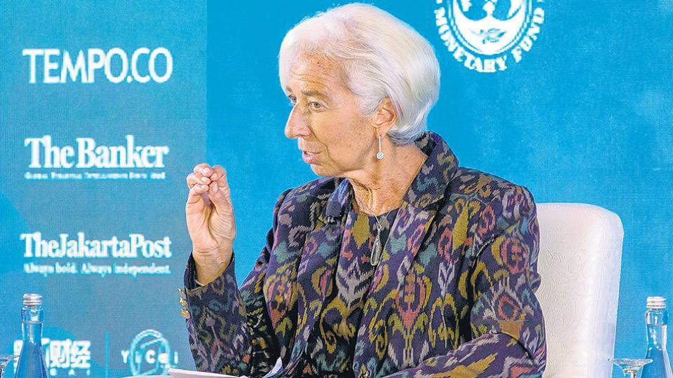 Christine Lagarde, titular del FMI, presentó el documento en la isla de Bali.