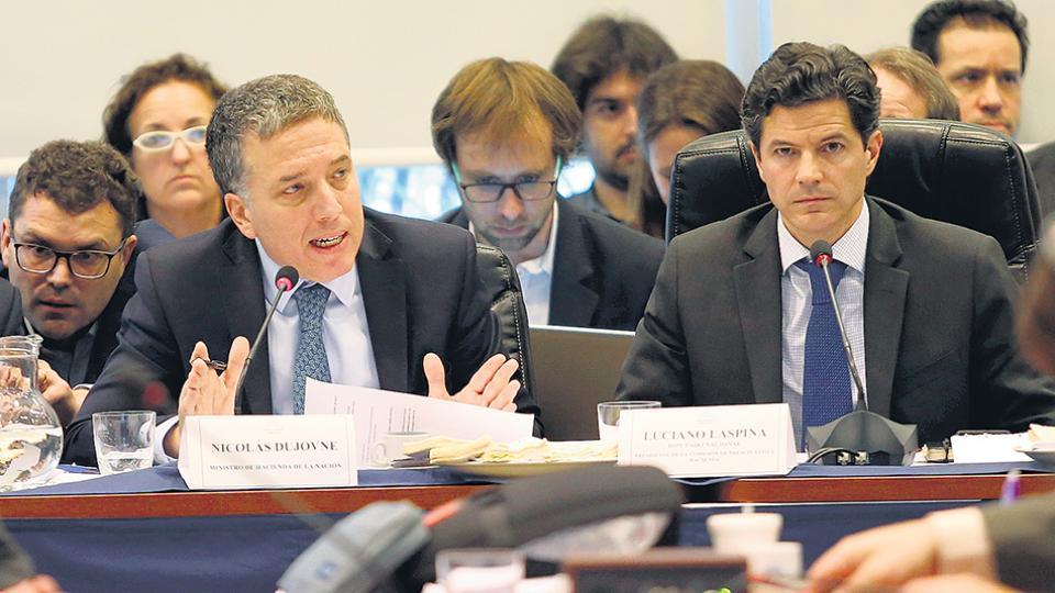 Nicolás Dujovne, ministro de Hacienda. El costo social para cumplir las metas del FMI amenaza ser gravísimo.