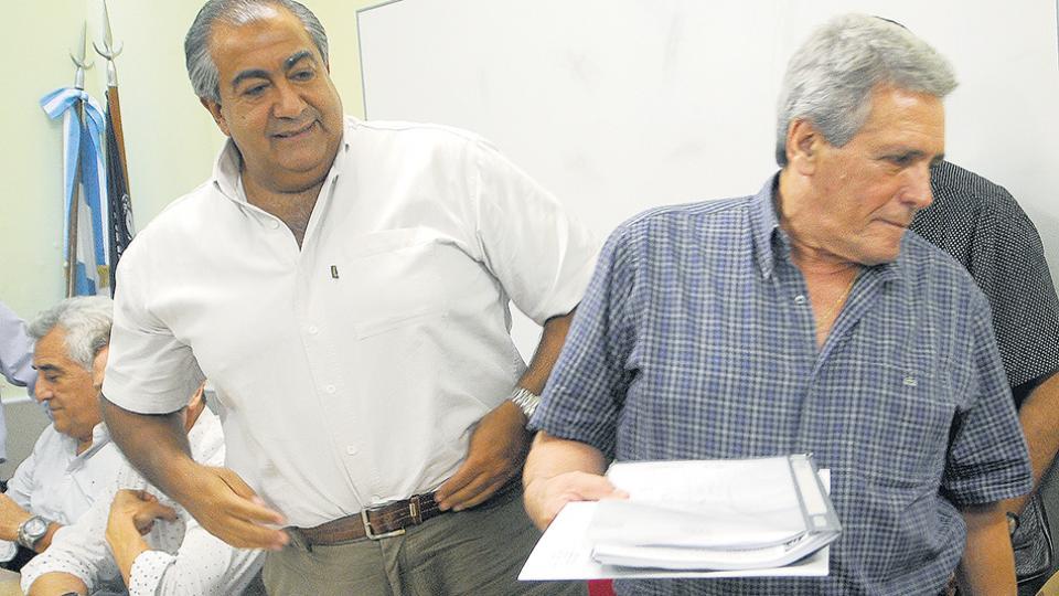 Héctor Daer y Carlos Acuña no descartan la posibilidad de convocar a un nuevo paro nacional.