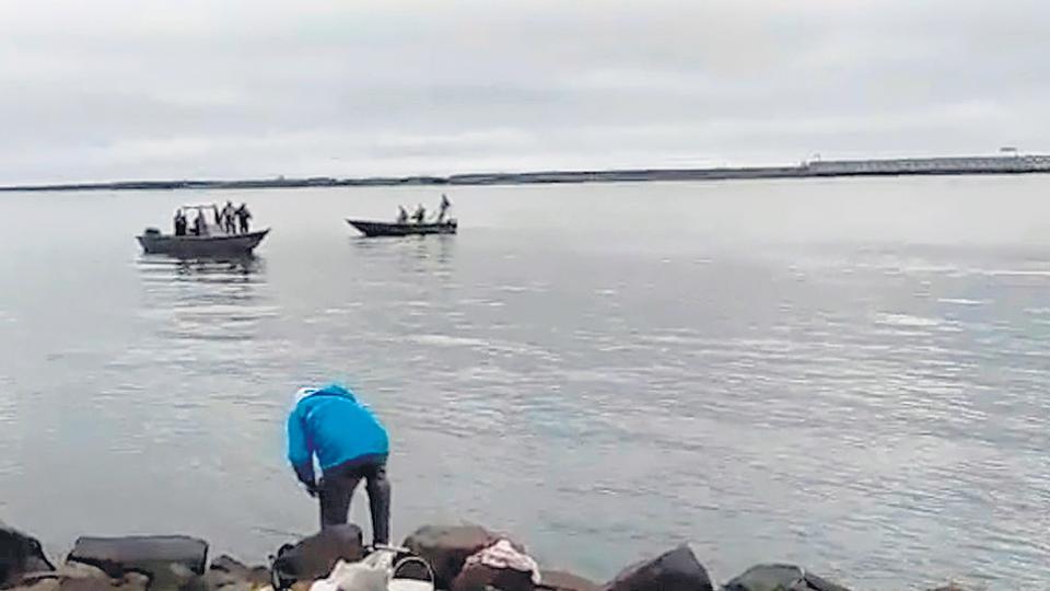 El concurso se realizaba en la isla de Apipé, frente a Yacyretá.