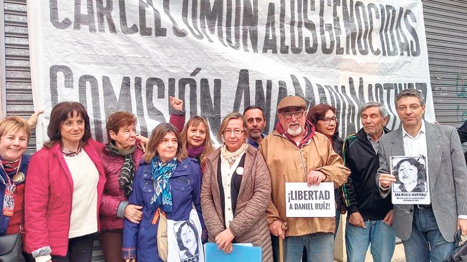 El juicio pudo comenzar tras una larga lucha de familiares y compañeros de militancia de Martínez.