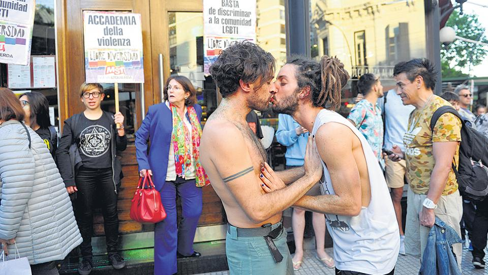 Besazo| Organizaciones LGBT repudiaron una agresión homofóbica
