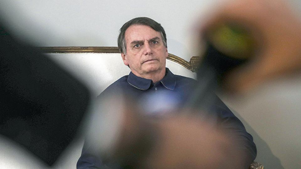 Bolsonaro, neonazi y defensor de la derecha de Israel, un factor divisivo para la colectividad judía.