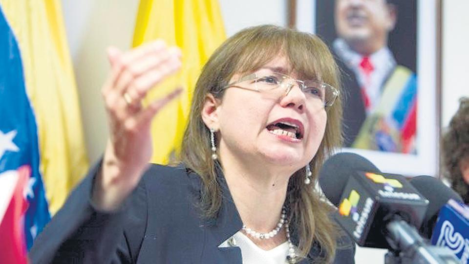 La embajadora Carol Delgado.