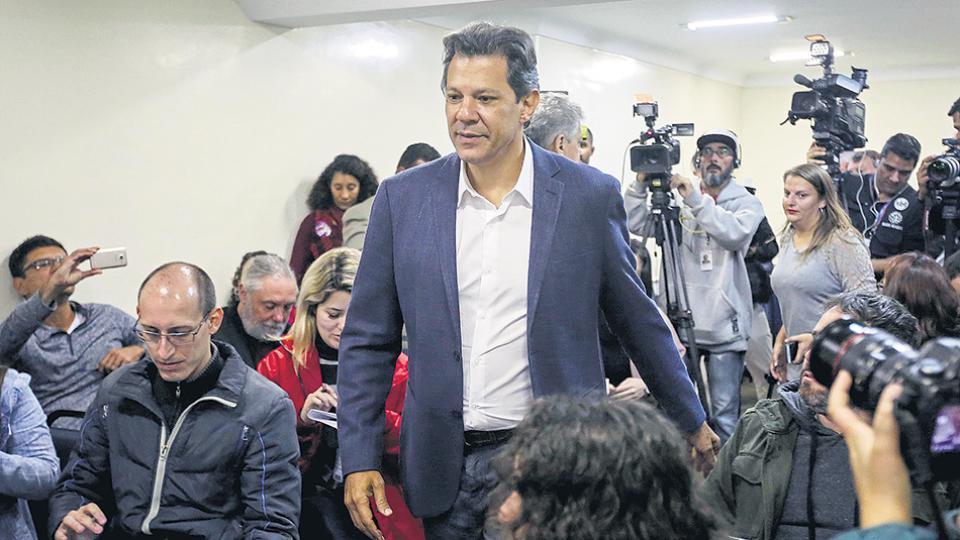 Haddad destacó que le restan 20 días de campaña, el mismo tiempo que tuvo desde que fue lanzada su candidatura.