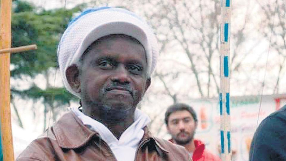 Romualdo Rosadio da Costa, de 63 años, alias Moa do Katendé, músico e instructor de capoeira y votante del Partido de los Trabajadores.