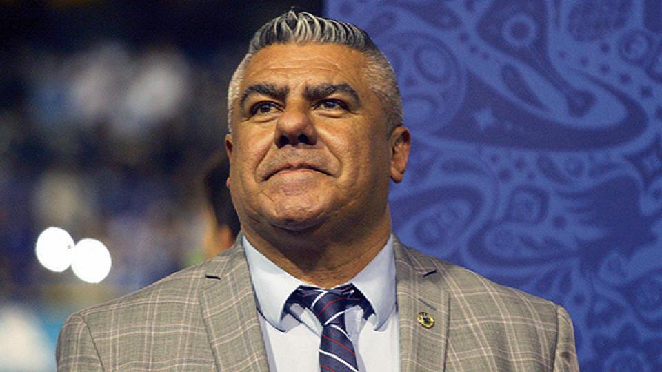 """Claudio """"Chiqui"""" Tapia también es vicepresidente de Conmebol."""