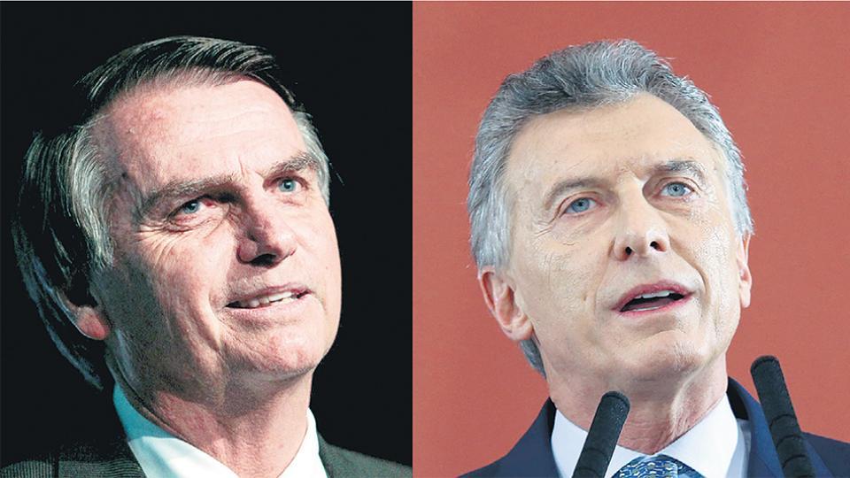 Jair Bolsonaro solicitó una comunicación con Macri a través de la Cancillería.