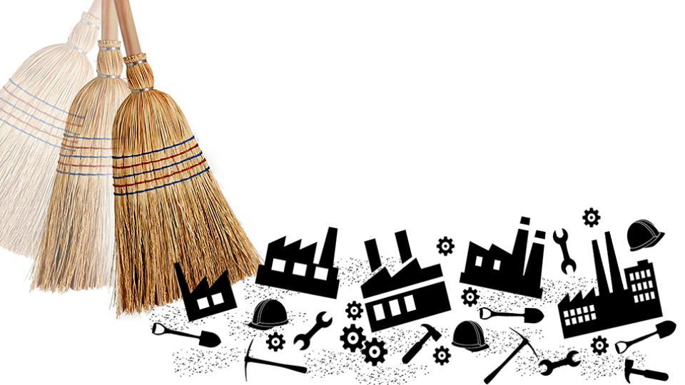 En el rubro textil, la producción de tejidos cayó 29,1 por ciento y la de hilados de algodón lo hizo en 18,7 puntos.