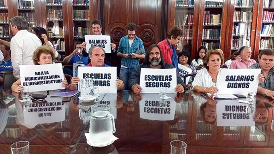 La vigésima reunión paritaria de los maestros bonaerenses volvió a terminar sin acuerdo.