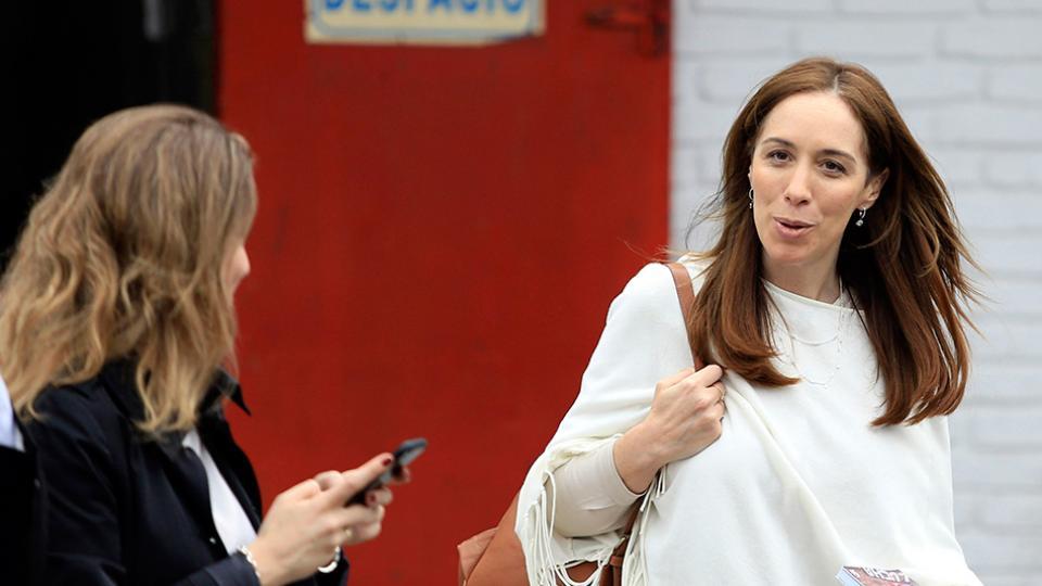 La gobernadora Vidal, en la mira por un acuerdo del Banco Provincia.