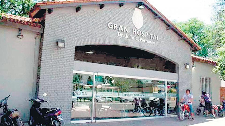 El hospital Perrando, donde falleció la niña wichí.