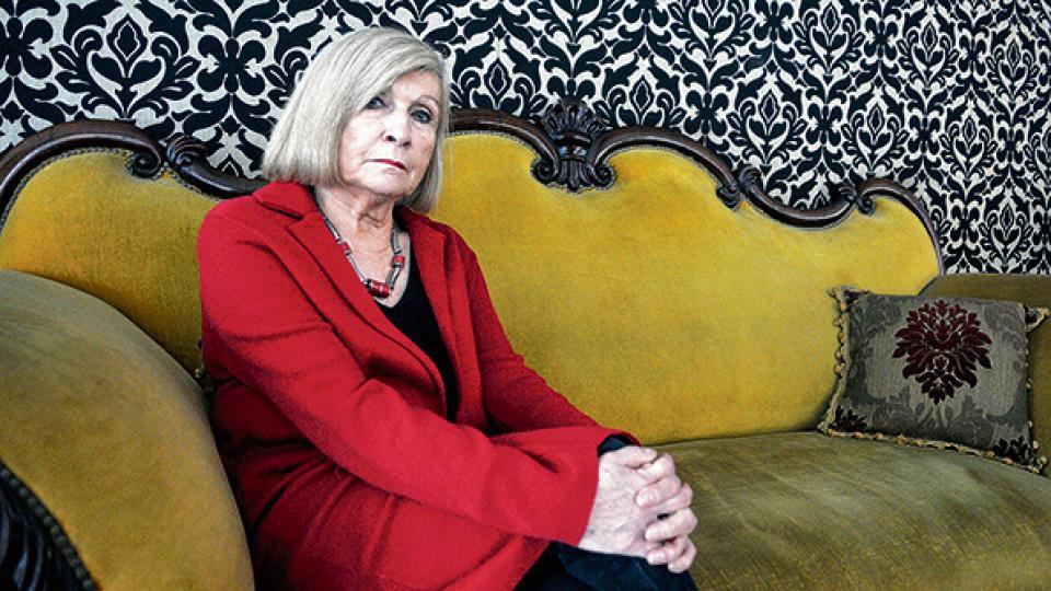 """Atravesamos una crisis de la hegemonía neoliberal"", asegura la filósofa y politóloga belga Chantal Mouffe."