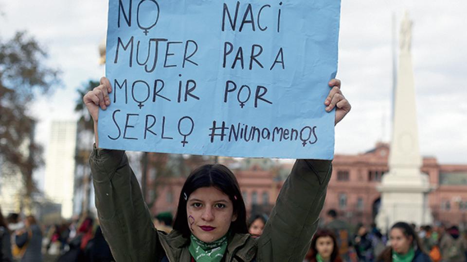 Por los crímenes, 250 chicas y chicos quedaron sin madre.