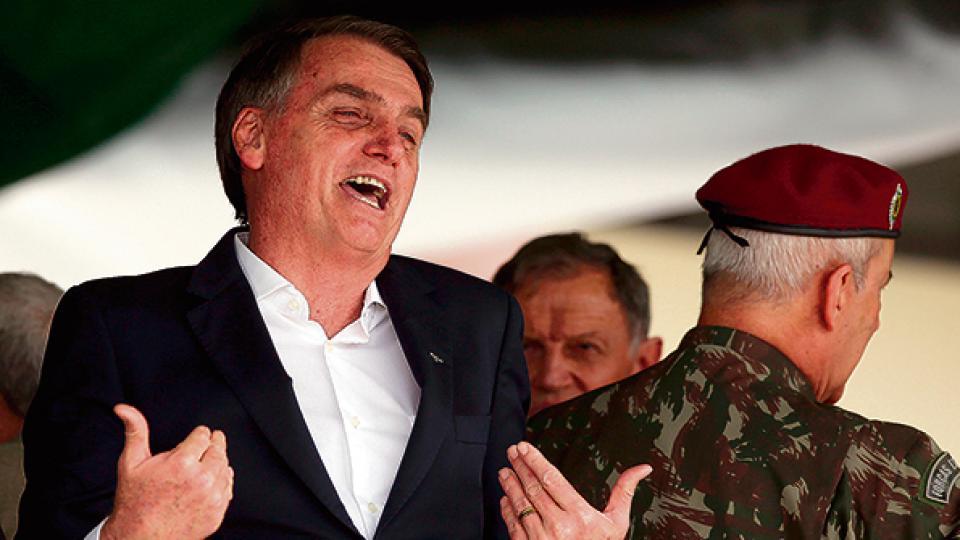 Bolsonaro busca reducir el tamaño del Estado.