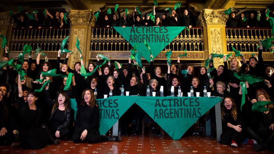 Basta de abusos| Las actrices argentinas le dicen NO al acoso laboral