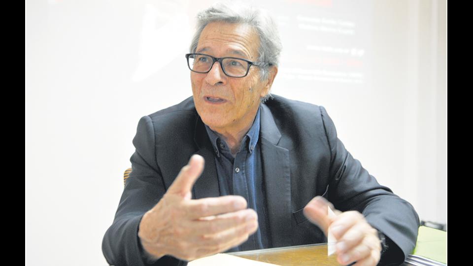 """El economista francés Pierre Salama afirmó que """"En Europa no sufrimos crisis recesivas como en Latinoamérica""""."""