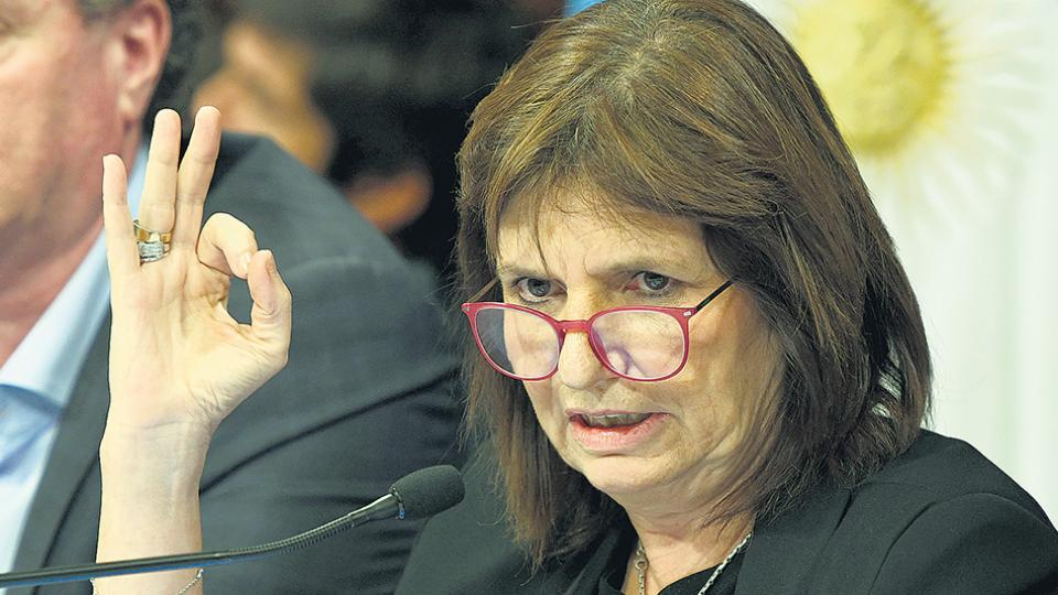 La iniciativa de Bullrich fue duramente criticada ayer por Elisa Carrió (ver página 6).
