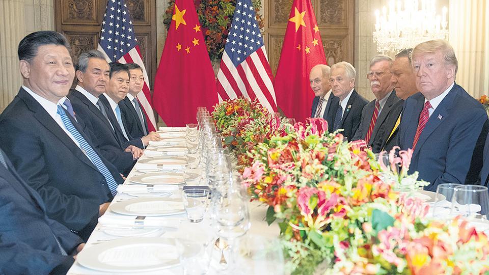 Xi Jinping y Donald Trump cenaron el sábado tras el G-20.