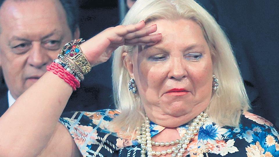 """Elisa Carrió dijo que """"no vamos a ir al fascismo"""" al oponerse al protocolo que impulsa Bullrich."""