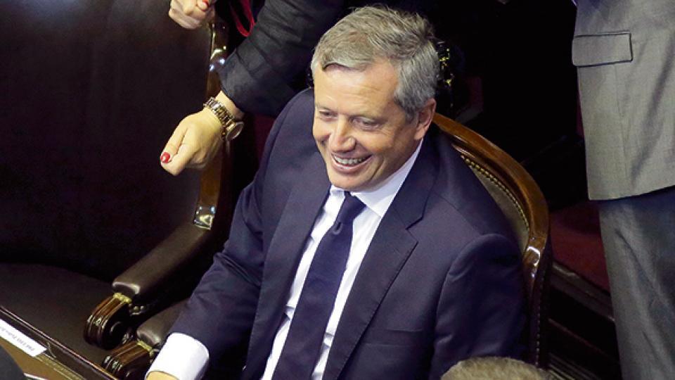 Emilio Monzó fue reelecto como presidente de la Cámara de Diputados por cuarto año consecutivo.
