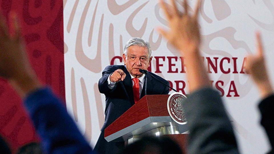 """López Obrador contó que tuvo una conversación """"amistosa y respetuosa"""" con Trump."""