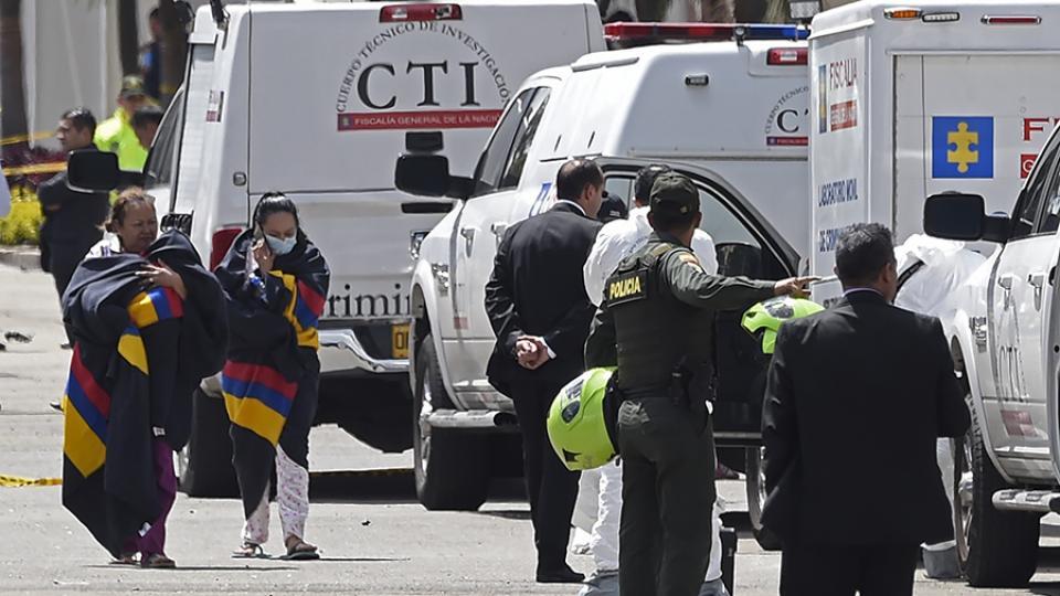 Son 21 los muertos por el coche bomba en Bogotá