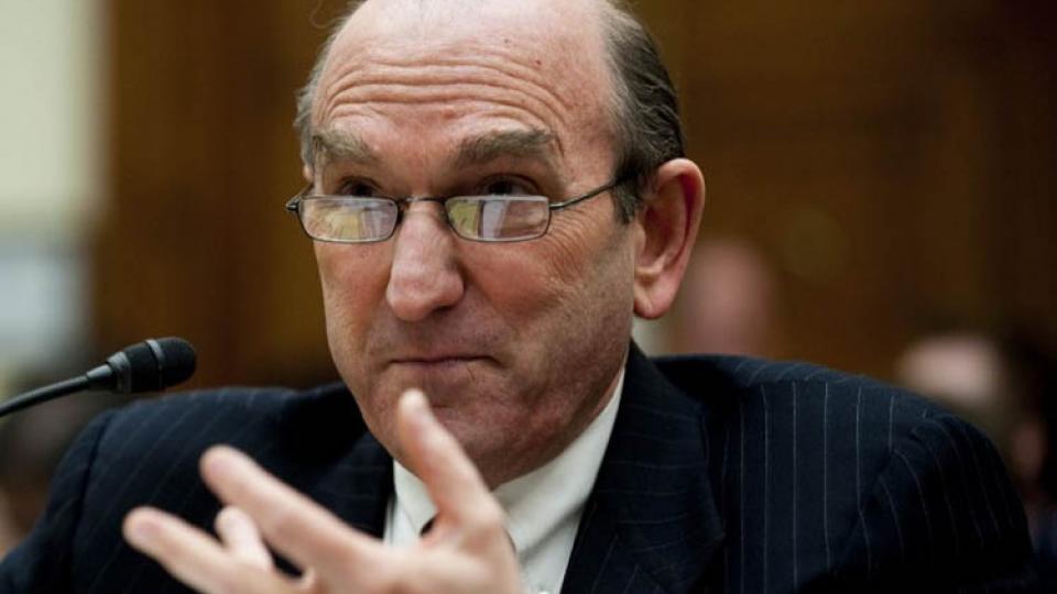 Abrams es un viejo conocido de América Latina por su rol en el escándalo Irán-Contras.
