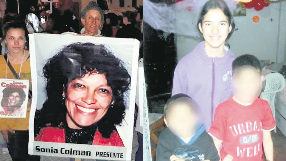 Gatillo fácil: Sonia Colman y Sabrina Olmos murieron por disparos policiales en casos en los que no tenían nada que ver.
