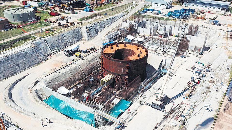El CAREM es un proyecto de reactor nuclear de baja potencia, que se construye en el partido de Zárate.