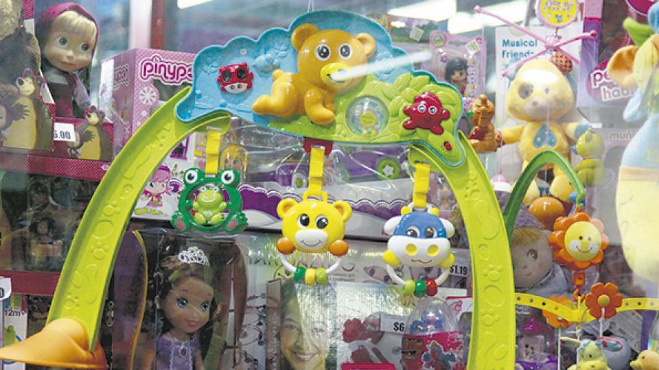 El rubro jugueterías y rodados retrocedió en unidades vendidas 10,7 por ciento interanual.