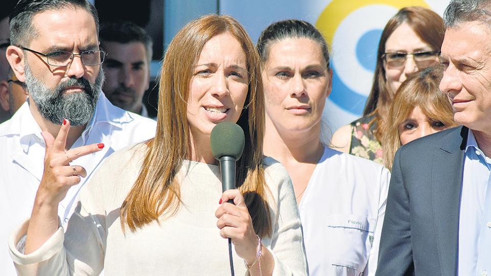 María Eugenia Vidal y Mauricio Macri se mostraron tres veces juntos en los últimos días.