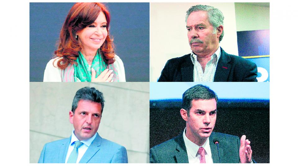 Cristina Kirchner, Felipe Solá, Sergio Massa y Juan Manuel Urtubey se expresaron por el fin de año.