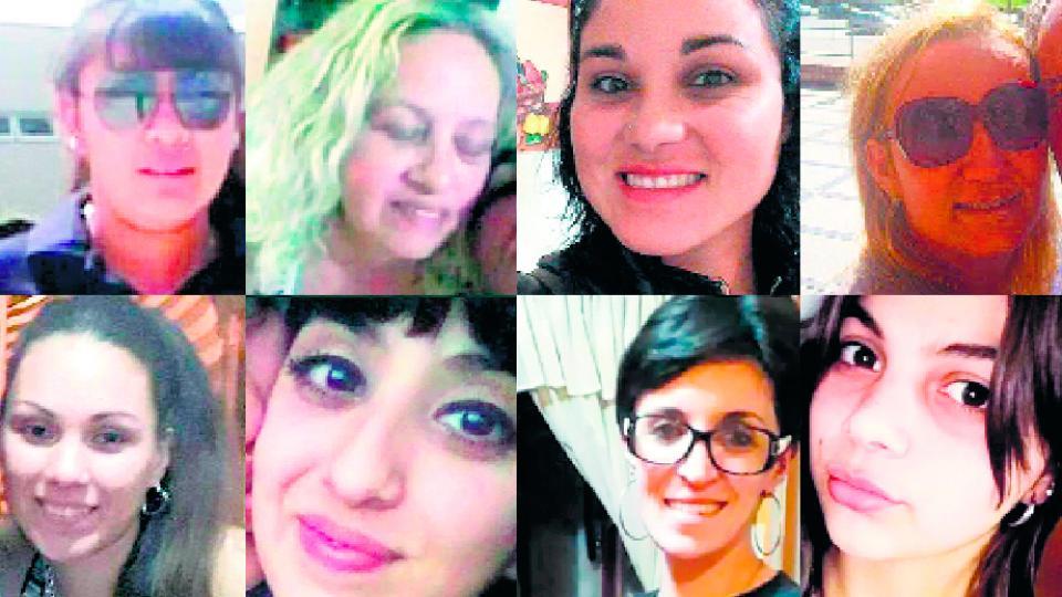 Víctimas en lo que va del año: Ugarte, Loyola, Varela, Canale, Moyano, Castillo, Soggiu, Imvinkelried.