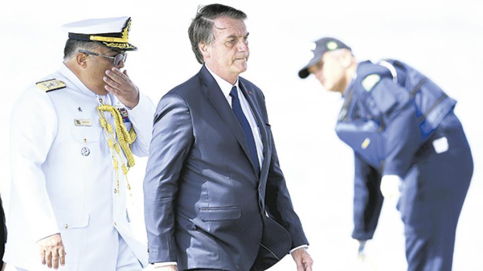 """Bolsonaro afirmó que Brasil necesita establecer un """"criterio riguroso"""" para la entrada de migrantes."""