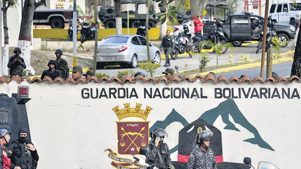 Un grupo de la Guardia Nacional Bolivariana intentó sin éxito asaltar un puesto de comando policial.